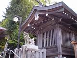 西寒多神社(本殿)