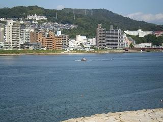 太田川 放水路