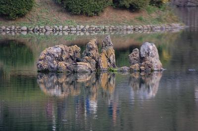 栗林公園 仙磯