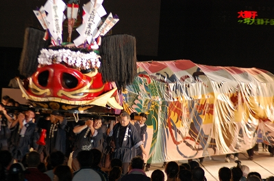 氷上八幡神社(大獅子)