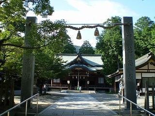 大麻比古神社(拝殿)