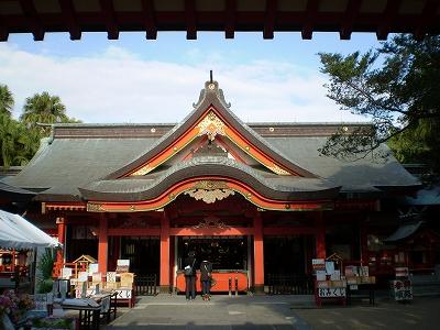 青島神社(拝殿)