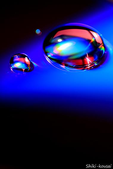 光の水玉写真【マジックアワー】