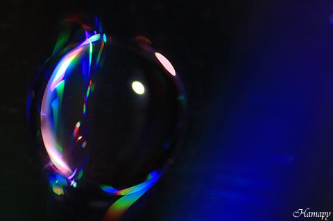 光の水玉写真 【水と光の惑星】