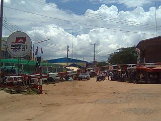 バンコクからカンボジアへのビザ延長ツアー10