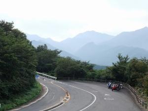 地蔵峠からの展望