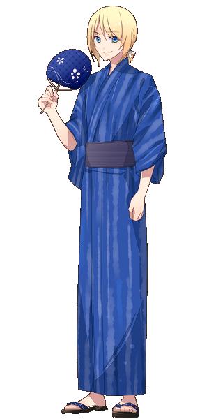 スウェン・リヒター(浴衣)