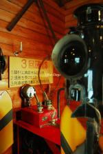鉄道記念館にて