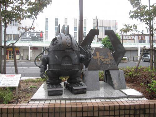 松本零士モニュメントロード-5