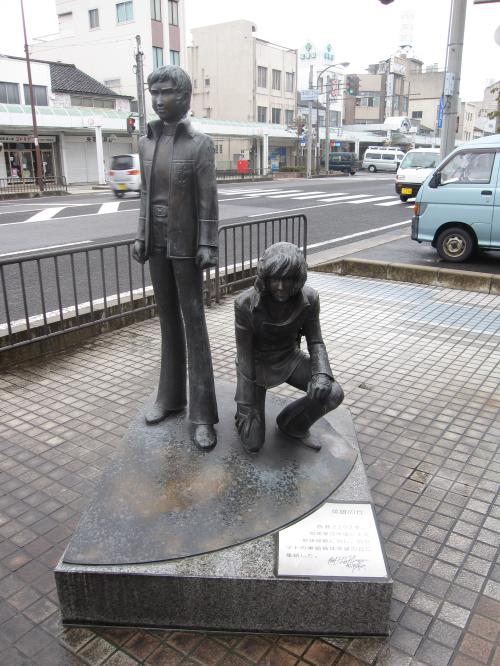松本零士モニュメントロード-6