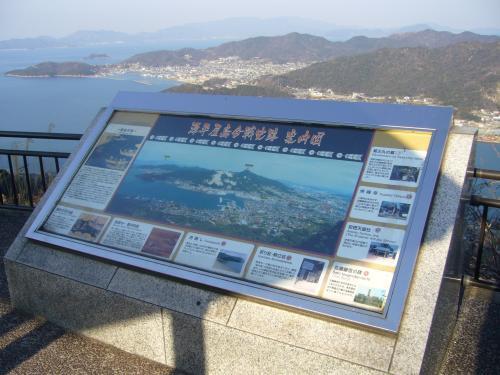 源平屋島合戦史跡 案内図