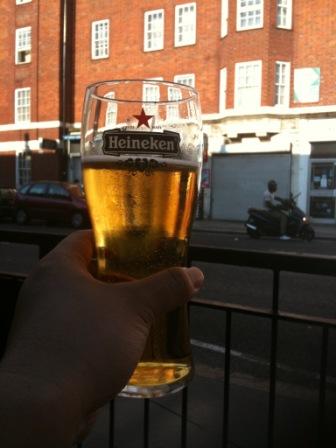 いい天気とビール2