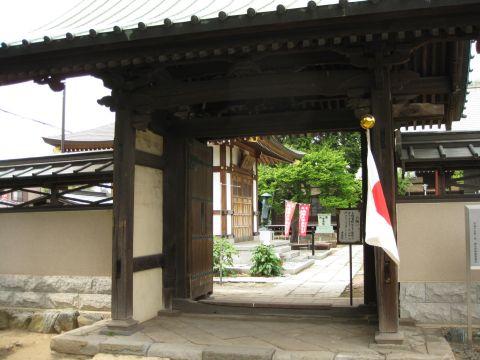 清蔵院山門