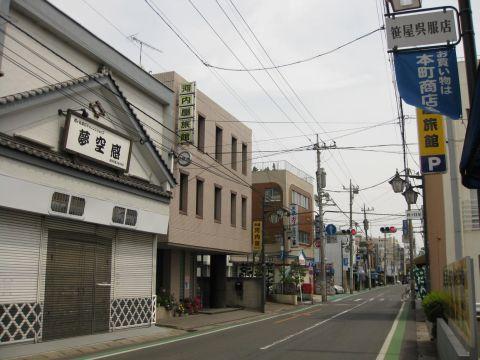 越ヶ谷宿・本町商店会