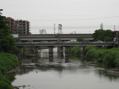 大沢橋と元荒川