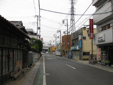 越谷宿・大沢町