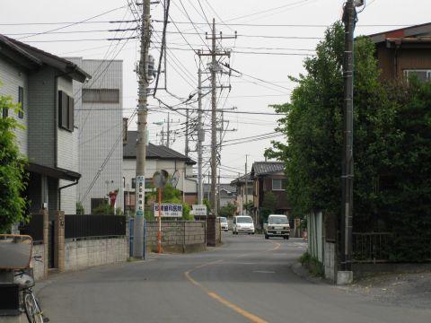 旧日光街道・下間久里