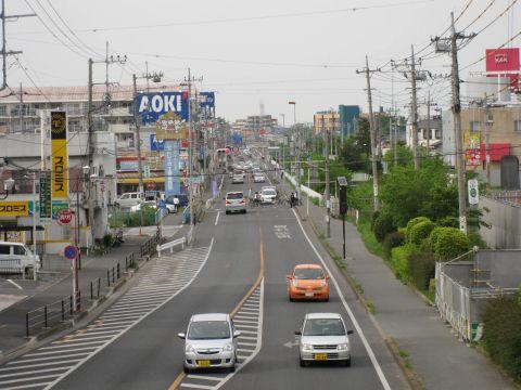 国道4号・千間台