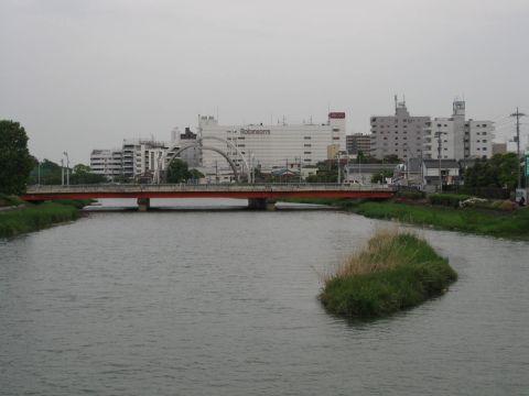 大落古利根川と粕壁宿
