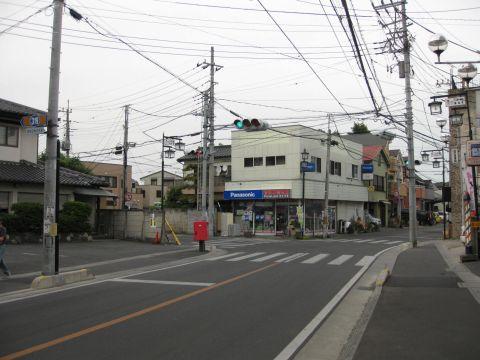 県道惣新田春日部線・八丁目
