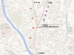 日光街道・関宿往還道分岐