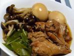 煮卵と鶏手羽