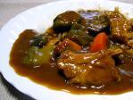スペアリブと夏野菜のカレー