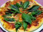 セモリナ粉ピザ