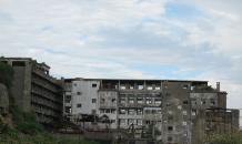 軍艦島_06_第1見学広場から北東_端島小学校