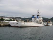 巡視船でじま船尾