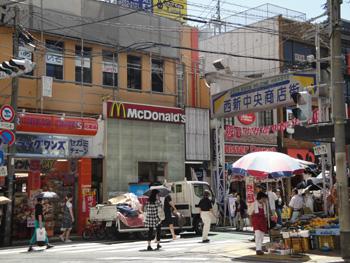 西新商店街