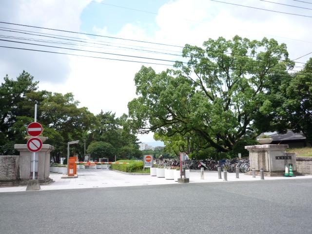 大濠公園入り口