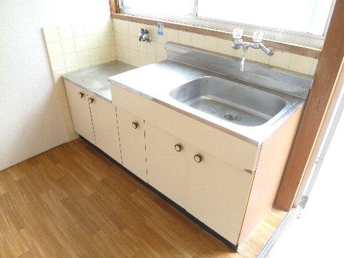 メゾンセピアA202 キッチン