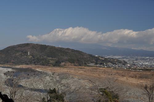 富士川SA 絶景ポイント