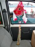 紅星の車パレード用飾りつけ3(金魚ねぷた2)