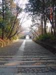 光明寺の坂(下り)