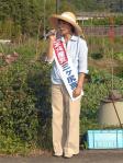 三ヶ尻さん6.16中村宣伝③(川登にて)