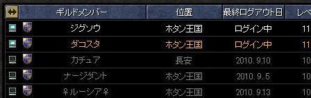 9月14日アプデ(ギルド情報画面)