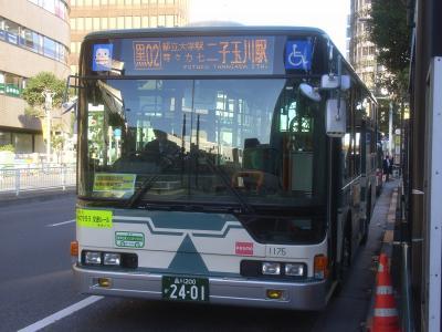 目黒駅にて