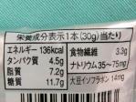 レーズンアーモンドの栄養成分
