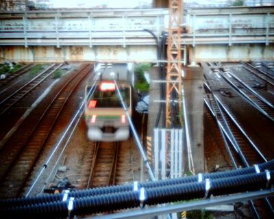 電車を見下ろして:Entry