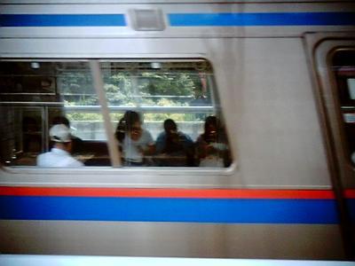 電車はグニャリなのに:Entry