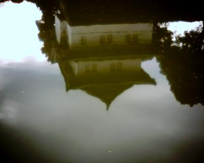 水に映る巽櫓:Entry