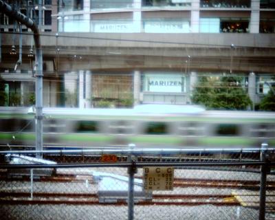 東京駅で山手線:Entry