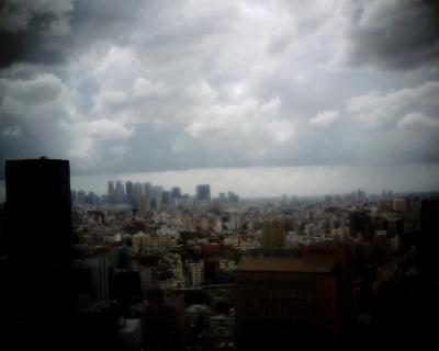 流れる雲・新宿上空:Entry
