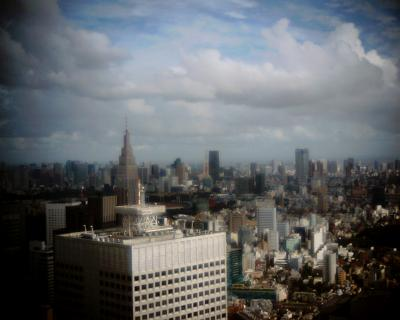流れる雲・東京タワー上空:Entry
