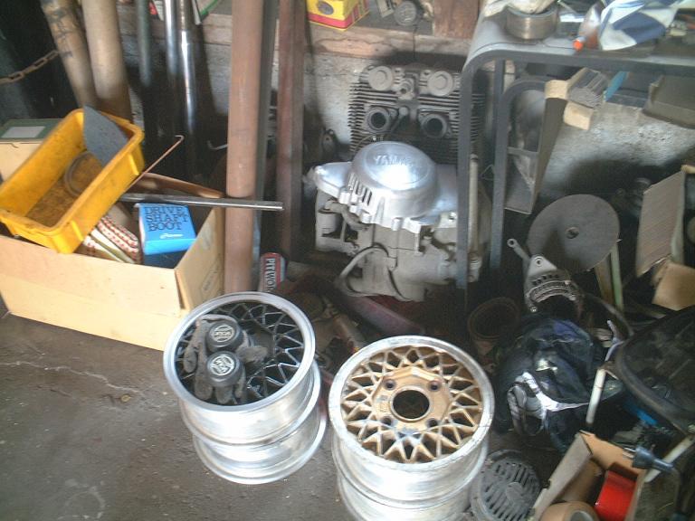 10インチホイール&TX750エンジン