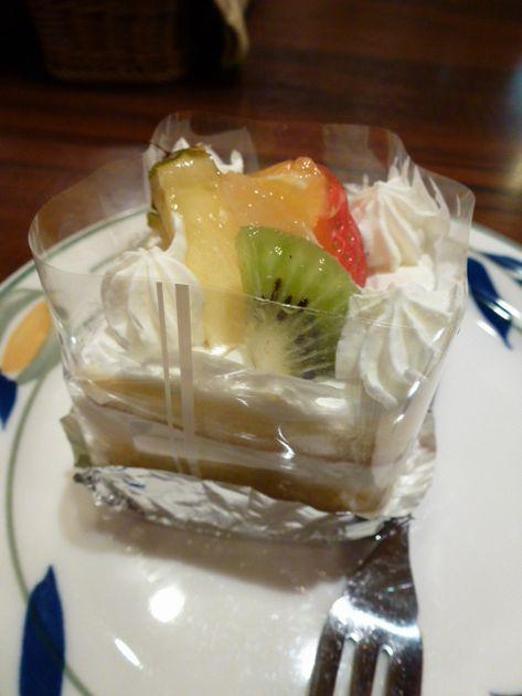 食後のケーキ♪