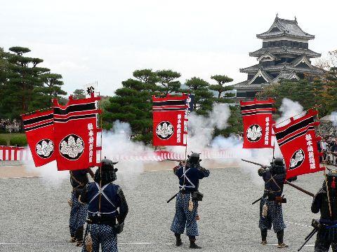古式砲術演武 第21回国宝松本城