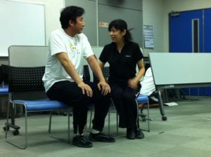 橋本さんとリュシス